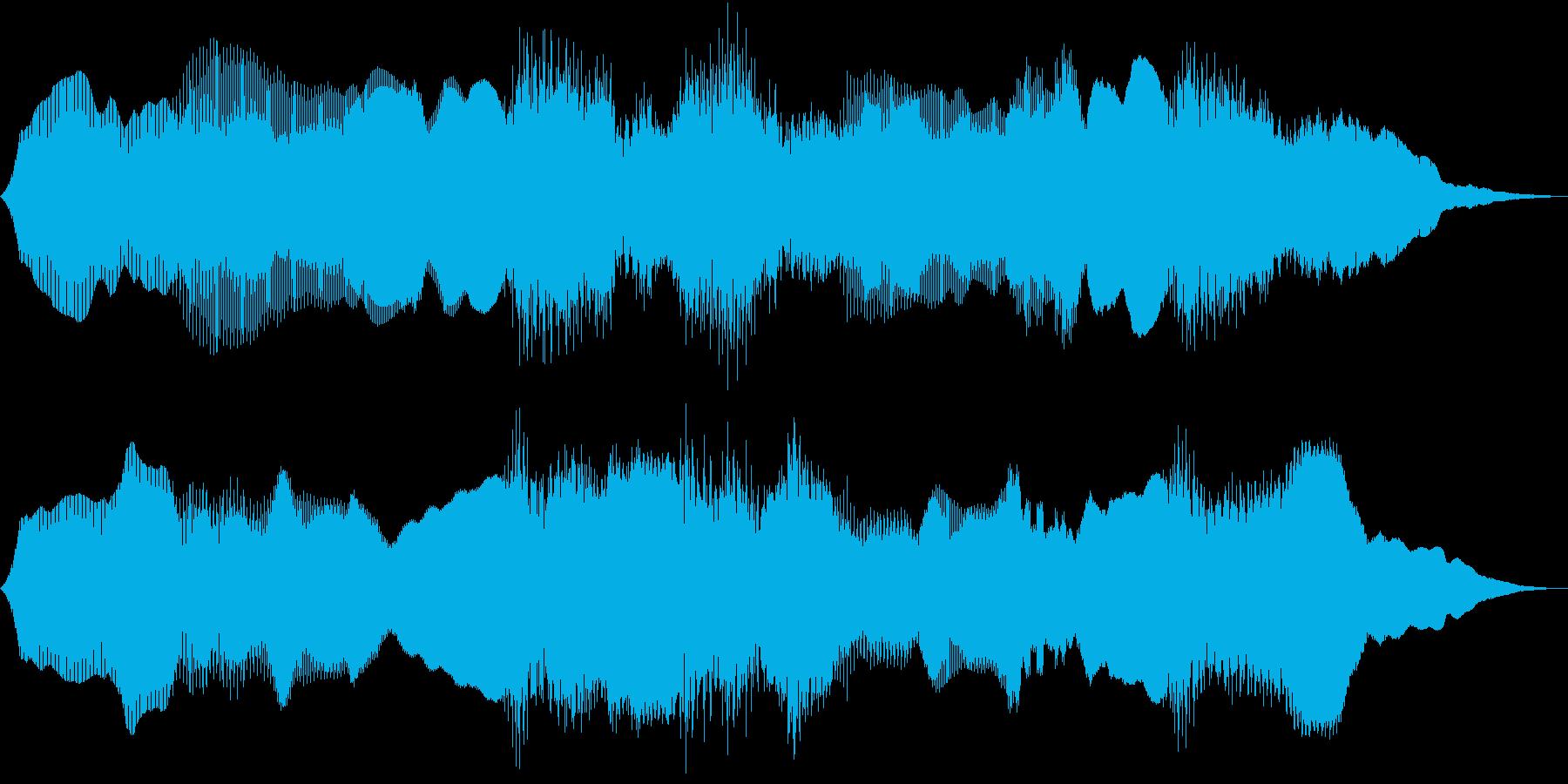 Anime 妖気を感じるPADの再生済みの波形