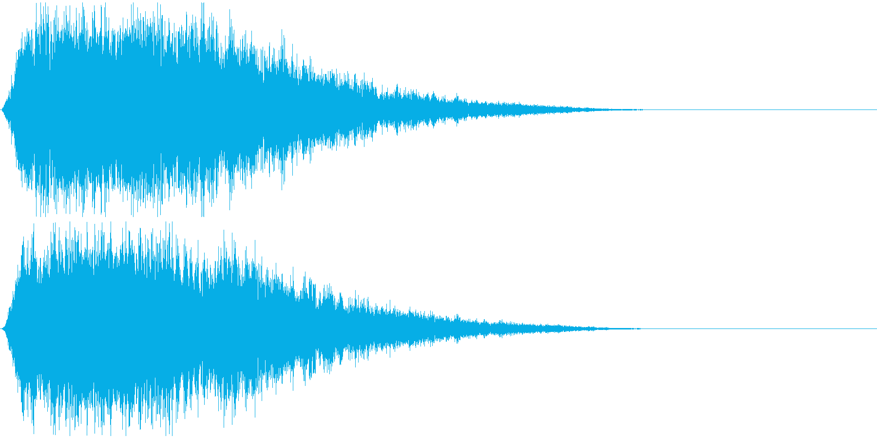 神秘的なシンセ音#1・サウンドロゴ等〜の再生済みの波形