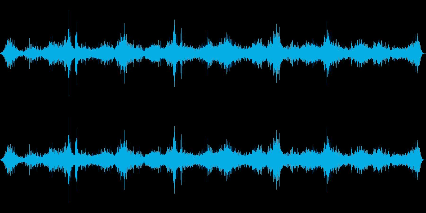 お米を研ぐ音(台所/炊事/ごはん)の再生済みの波形
