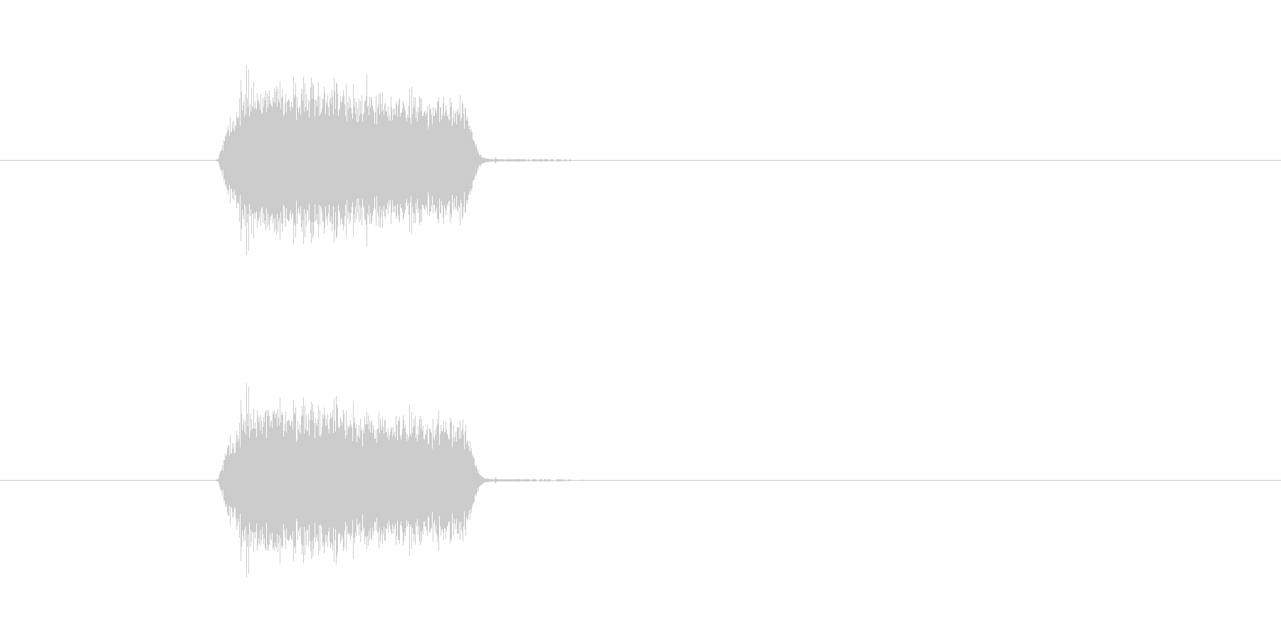 プシュ(スプレー噴射音)の未再生の波形