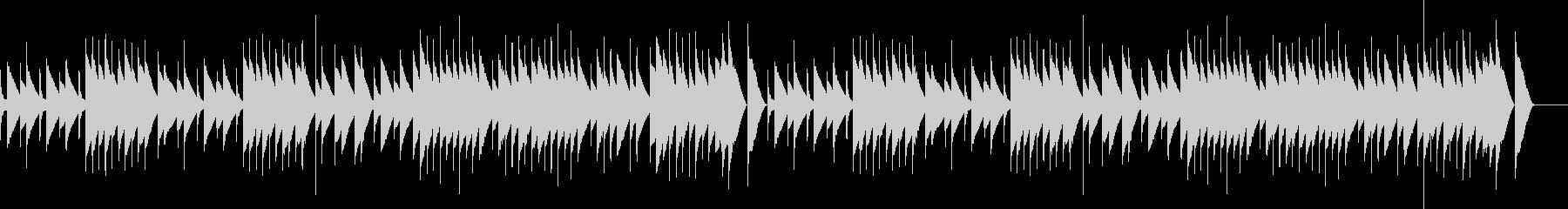 サティ ジムノペディ (オルゴール)の未再生の波形