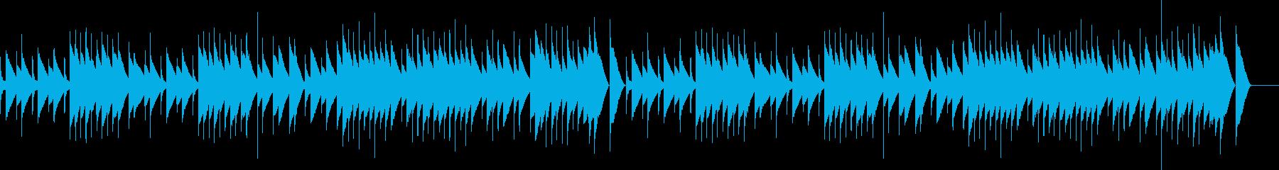 サティ ジムノペディ (オルゴール)の再生済みの波形