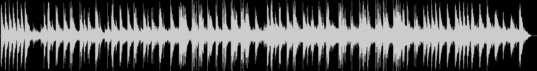 ゆったり切ないギター・シンセ曲の未再生の波形