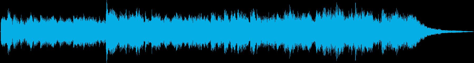かわいらしく幻想的なヒーリングジングルの再生済みの波形