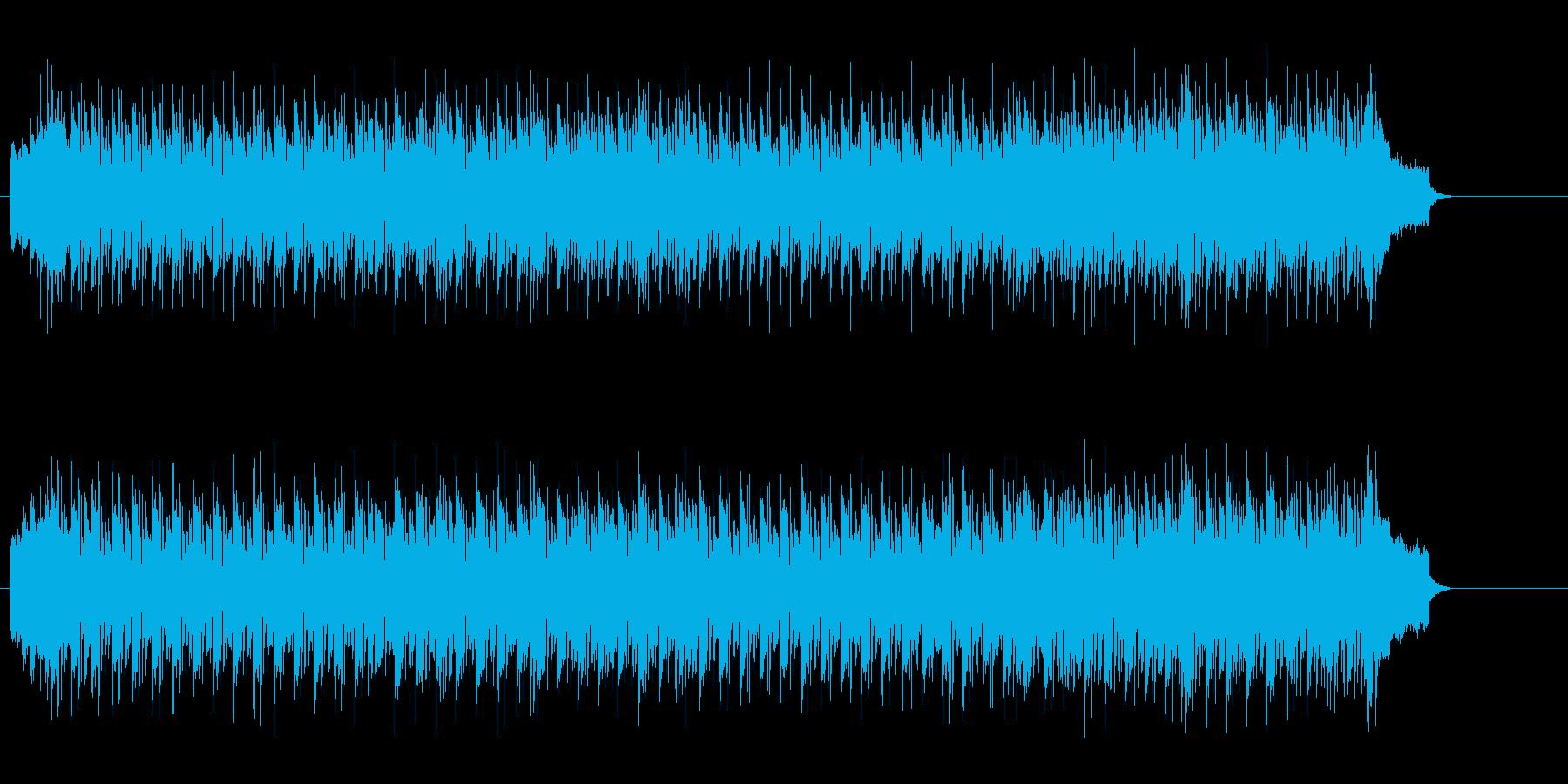 清涼感のある軽快なミディアム・サウンドの再生済みの波形