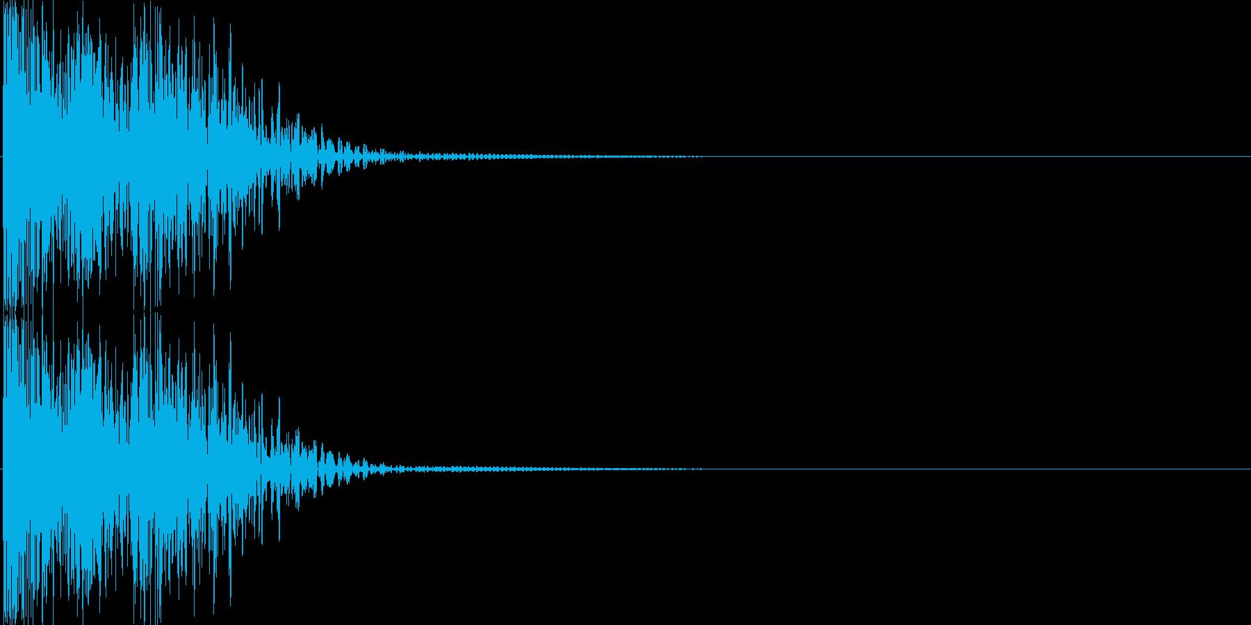 パワーダウン、エラー、ミスの再生済みの波形