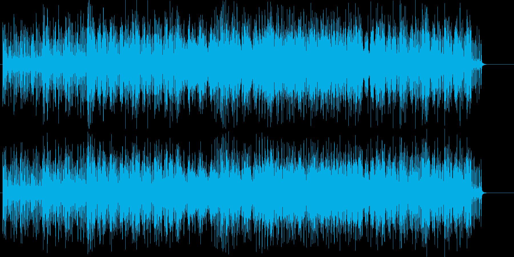 ファンキーでキャッチーなポップスの再生済みの波形