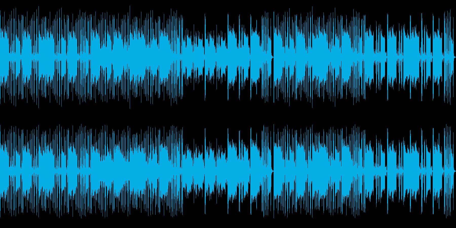渋い大人の雰囲気のヒップホップループの再生済みの波形