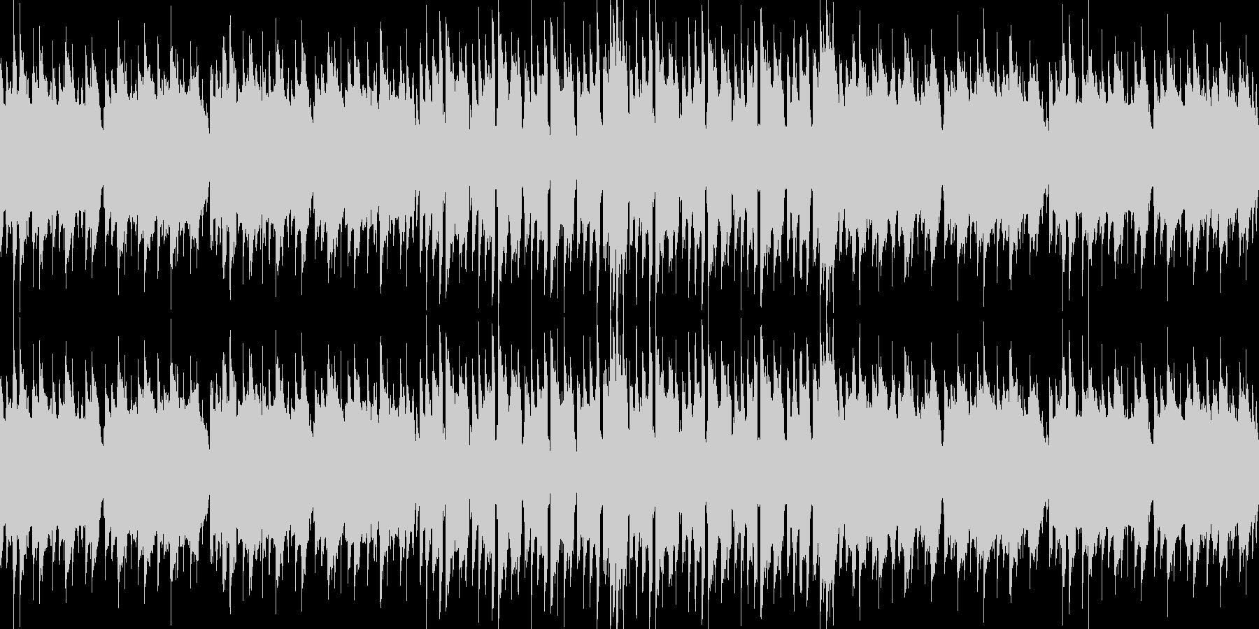 レトロゲームのBGMその2の未再生の波形
