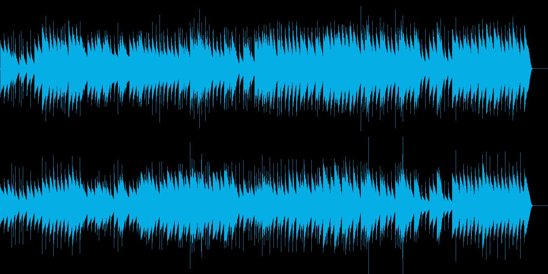 展覧会の絵 プロムナード (オルゴール)の再生済みの波形
