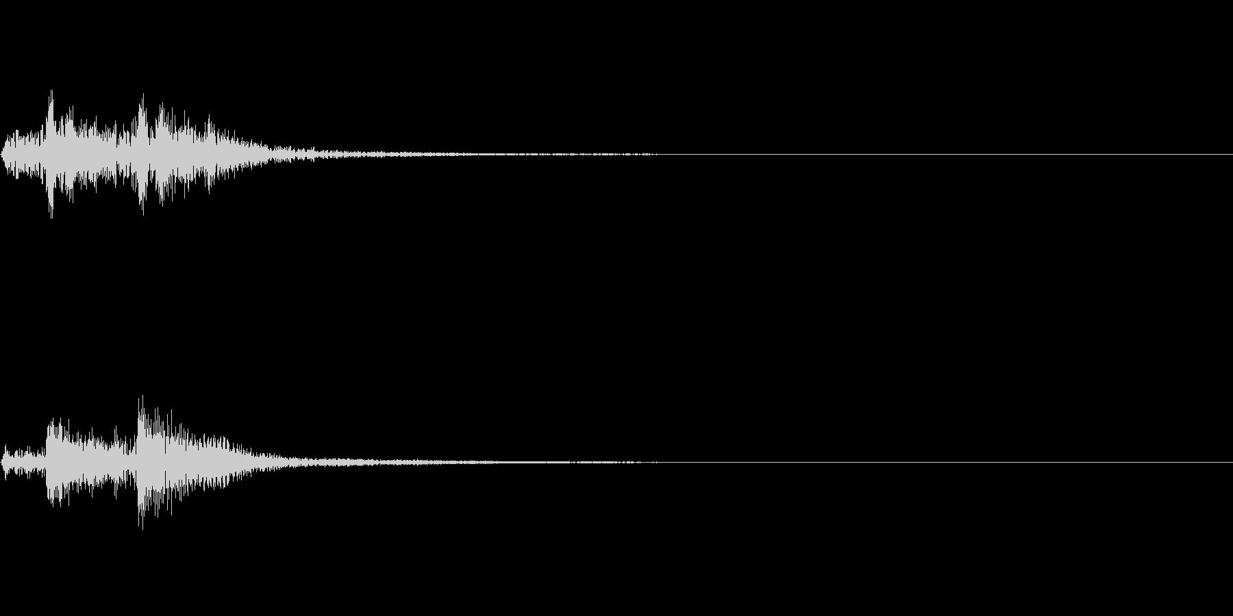 ピアノ SE07の未再生の波形