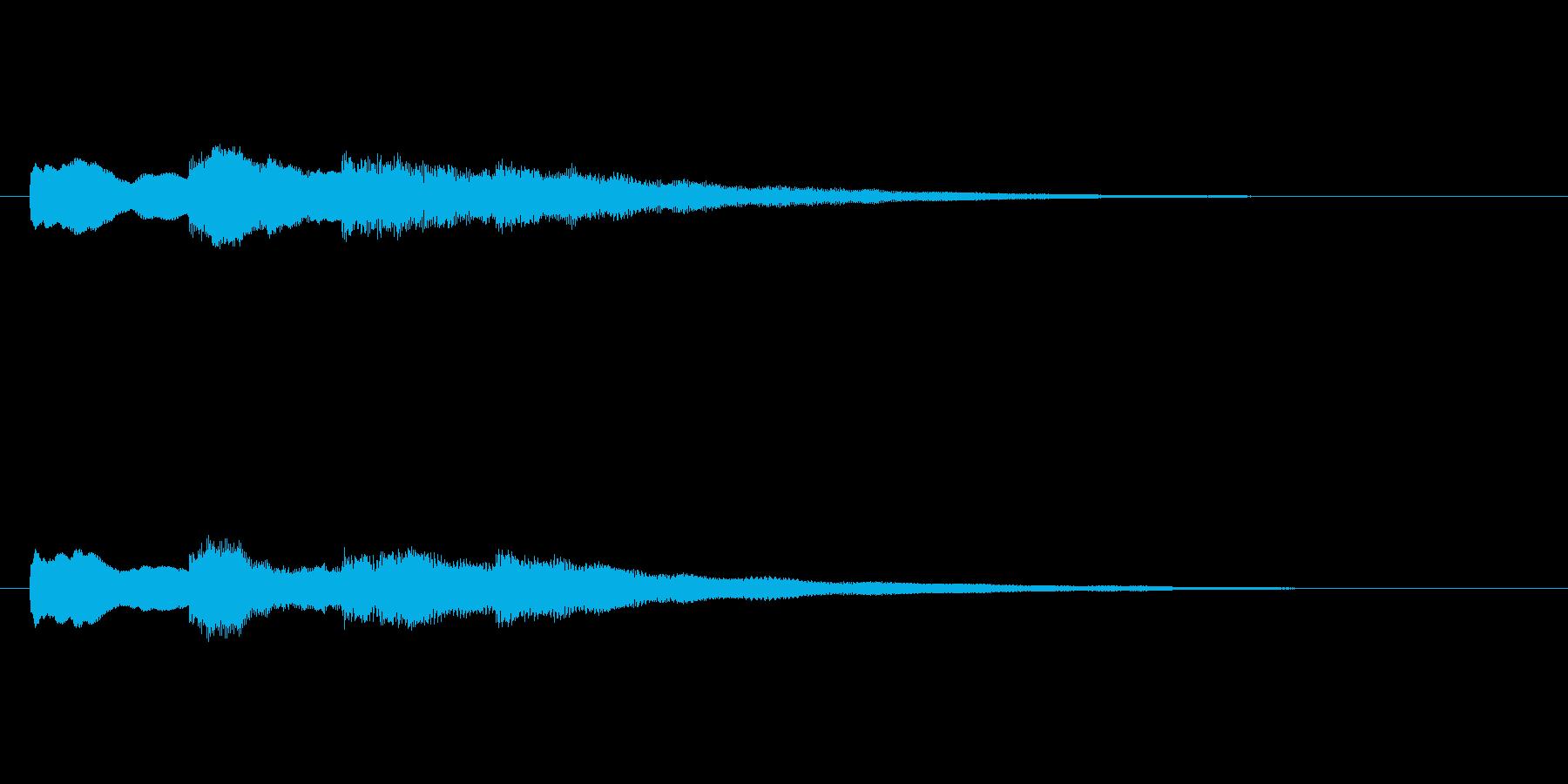 【チャイム 学校02-09】の再生済みの波形