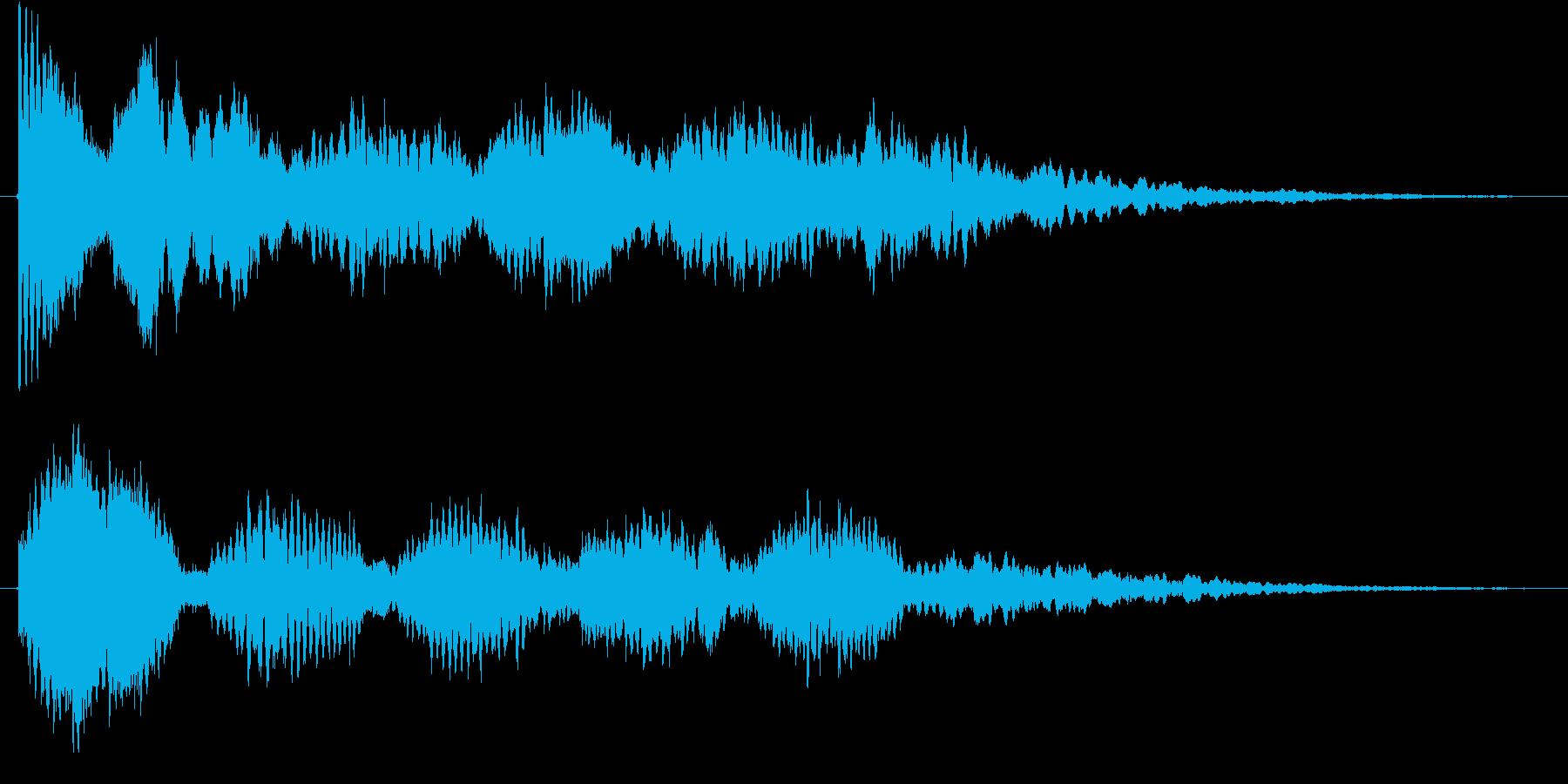 発見、気づき(フレクサトーン系)の再生済みの波形