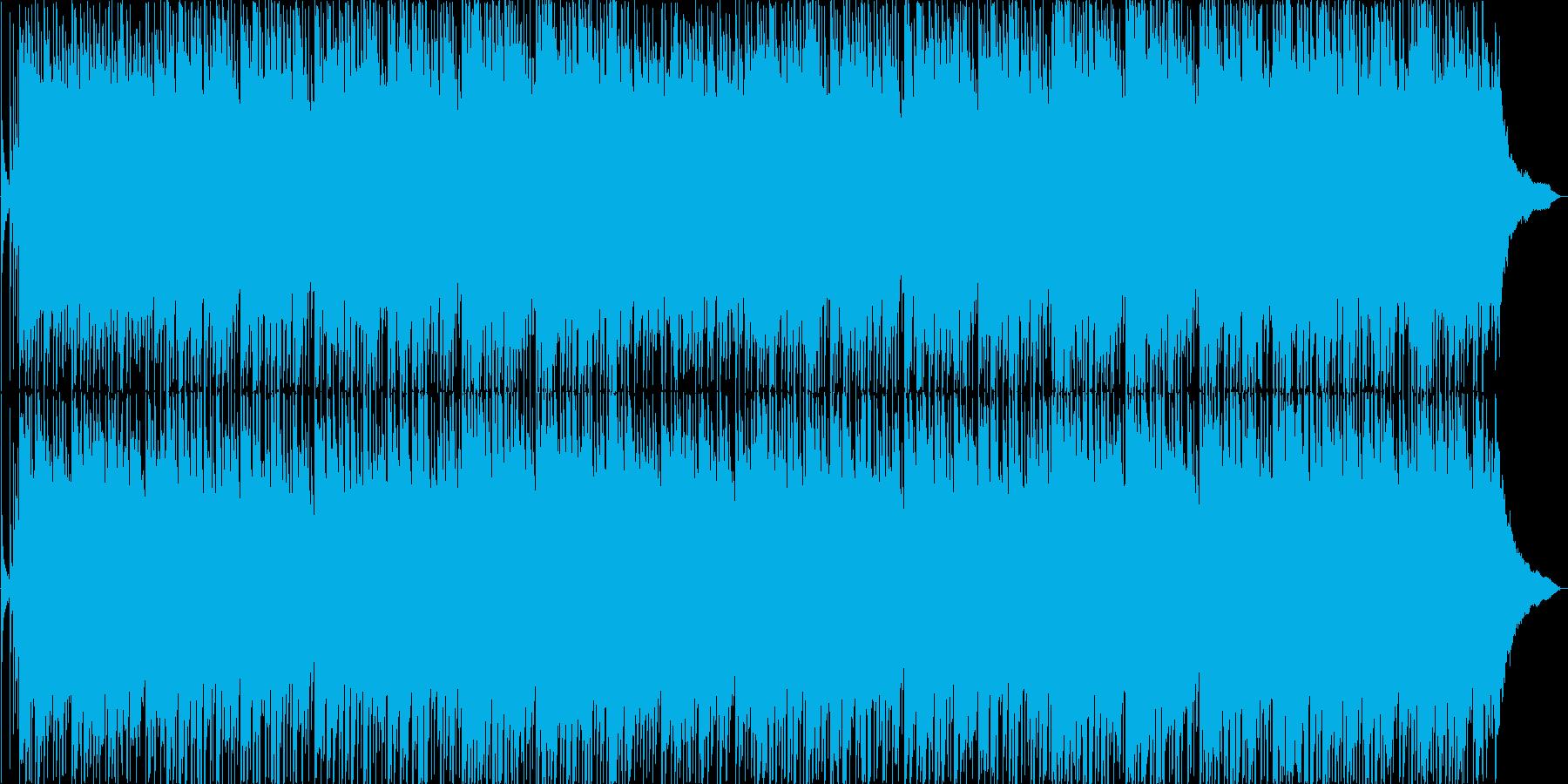 ウェディングをイメージした優しい楽曲の再生済みの波形