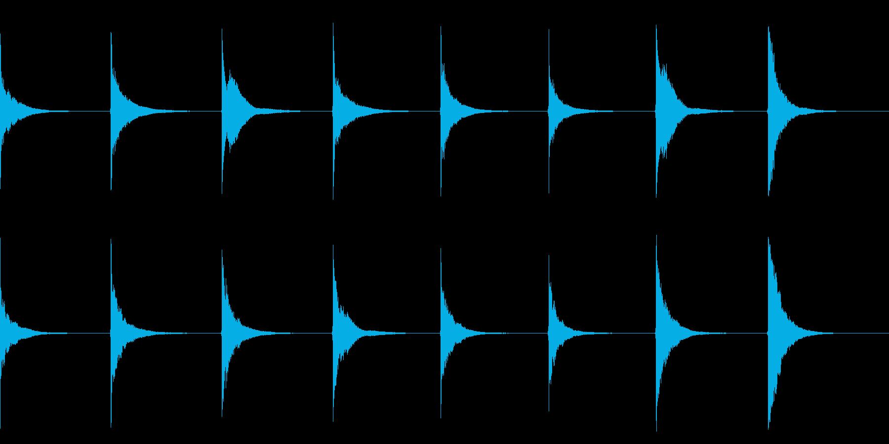 刀鍛冶の再生済みの波形