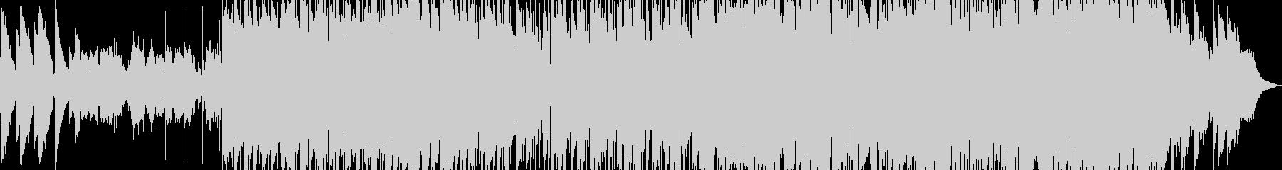 80年代風のJpopバラードの未再生の波形