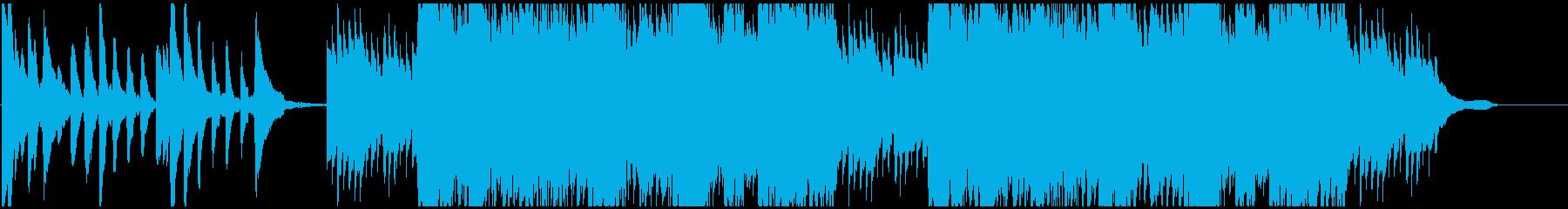 CM 科学や未来を発想する ミニマル音楽の再生済みの波形