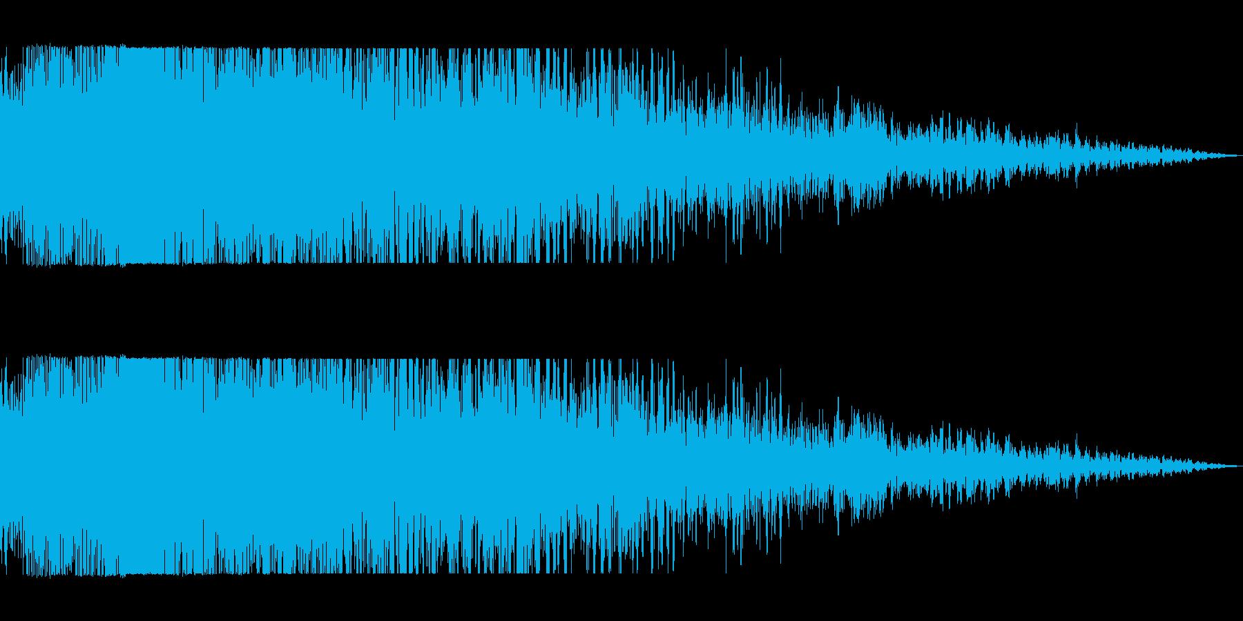 ショックを受け(ギャガーン)の再生済みの波形