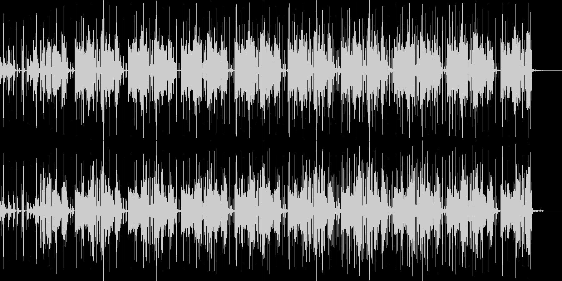楽しい シンセ CM ピアノ おしゃれ の未再生の波形