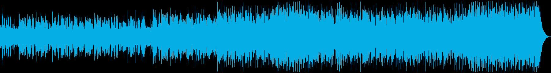アコギが印象的な癒しの美メロラブソングの再生済みの波形