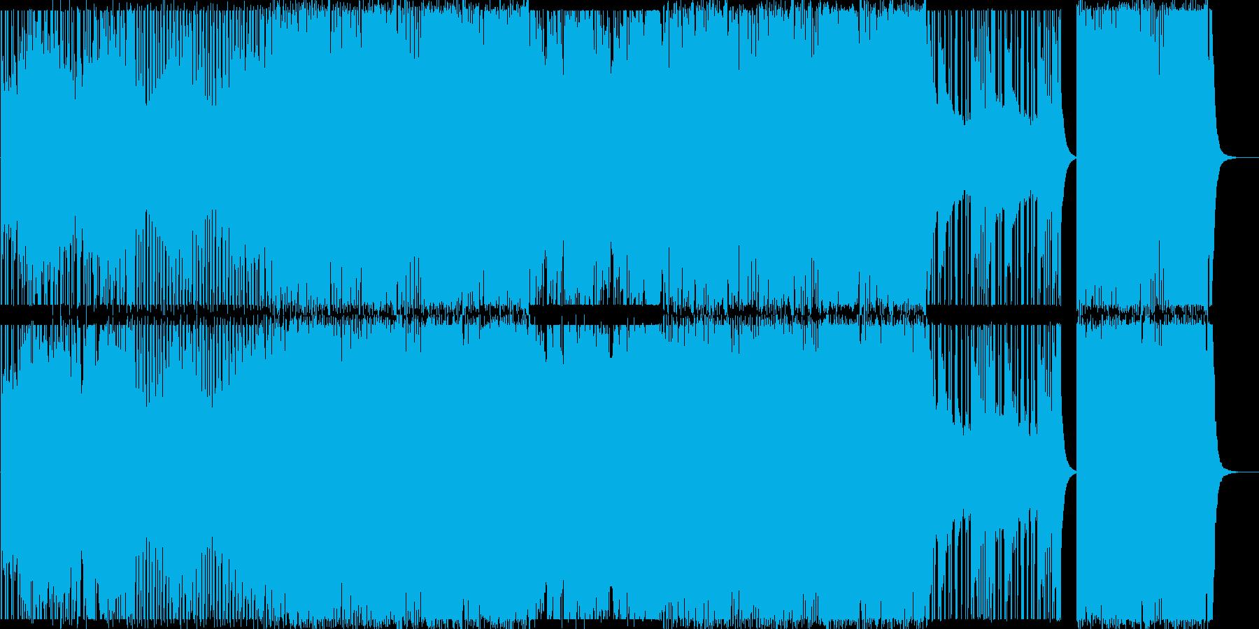 ストリングス/ヒップホップ/力強い#1の再生済みの波形