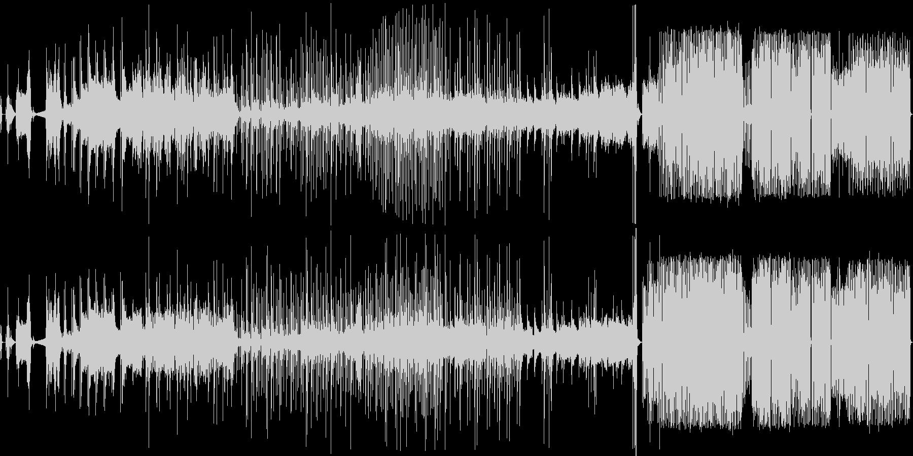 コンピュータサウンド〜3部作〜の未再生の波形