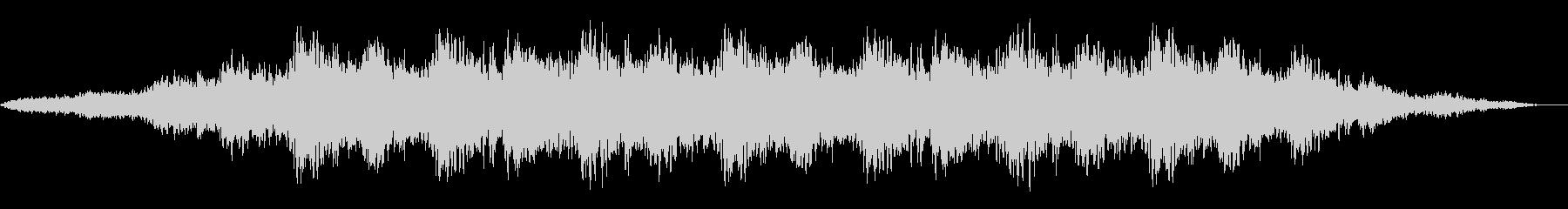 神秘的な雰囲気のアンビエント(背景音)3の未再生の波形