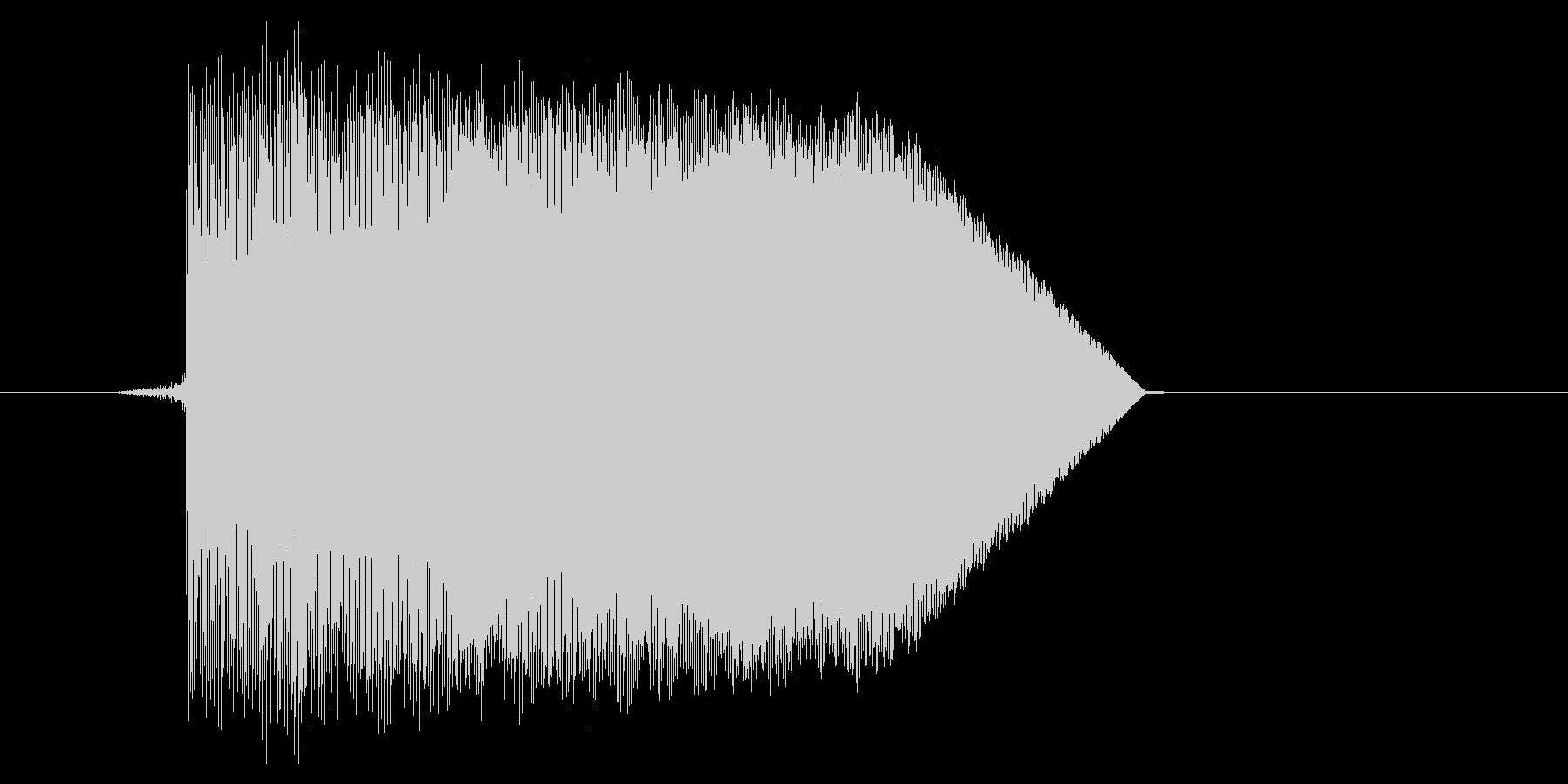 ゲーム(ファミコン風)ジャンプ音_036の未再生の波形