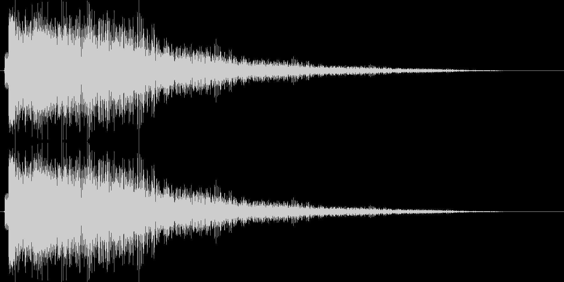 ゴーーーンの未再生の波形