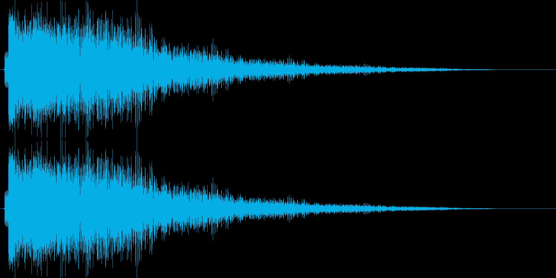 ゴーーーンの再生済みの波形