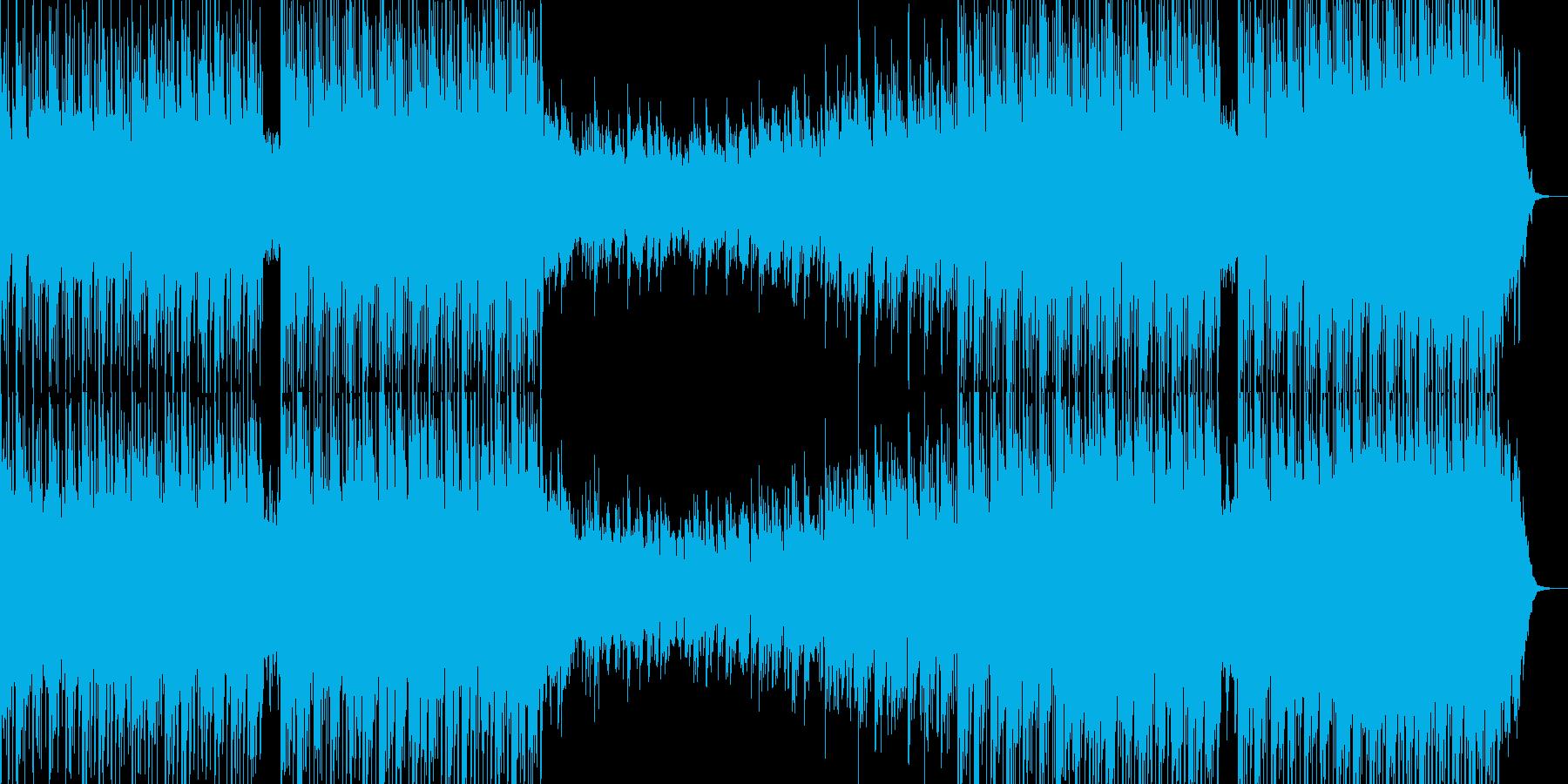 映像、リラックス音楽ーRed lotusの再生済みの波形