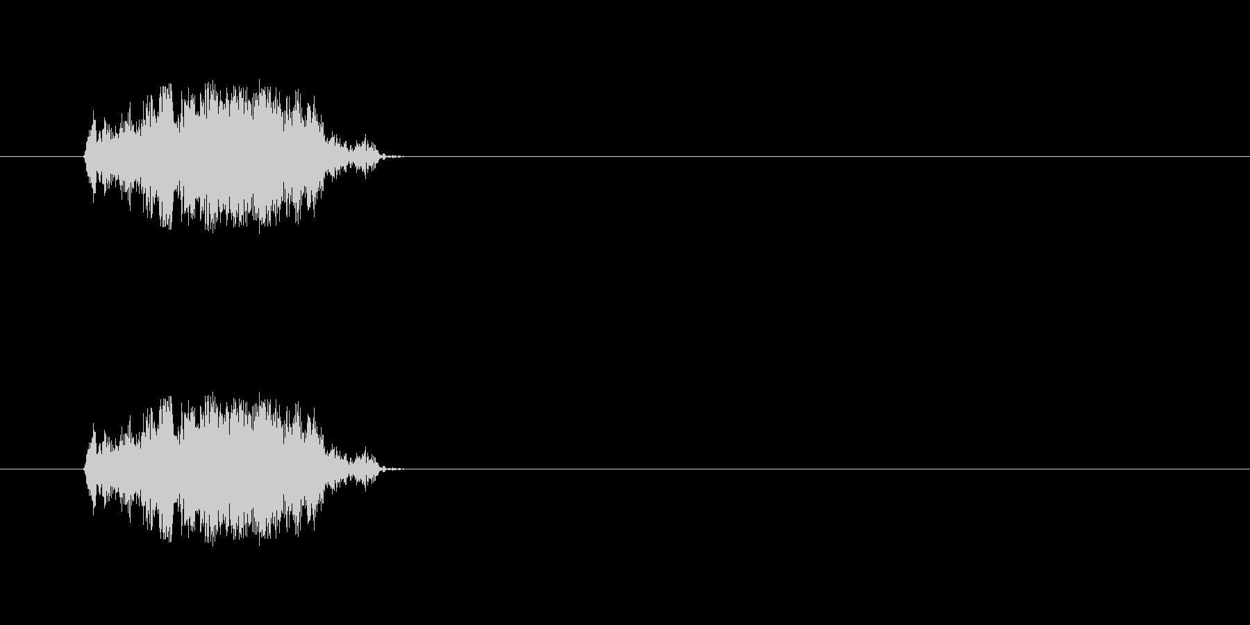 【斬る02-1】の未再生の波形