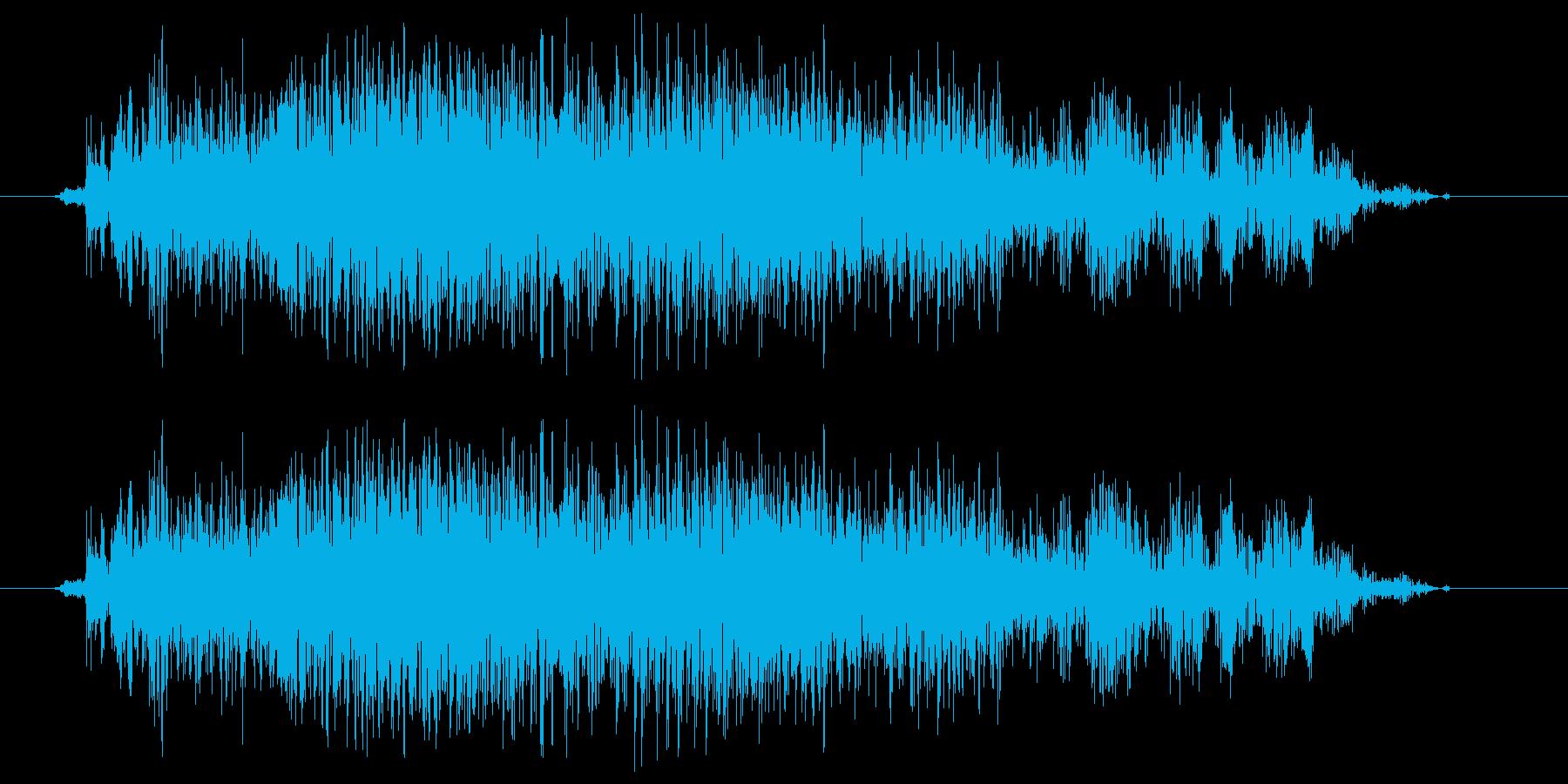 がーおの再生済みの波形
