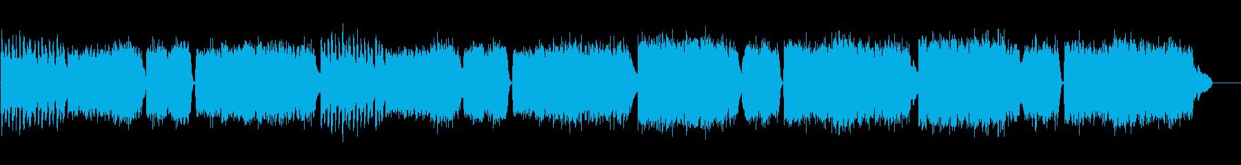 激しいチェンバロ曲 スカルラッティの再生済みの波形