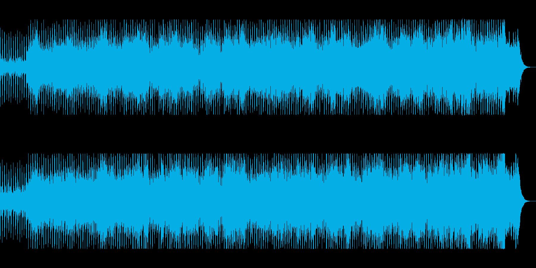 オーケストラとリズムトラック壮大ポップスの再生済みの波形