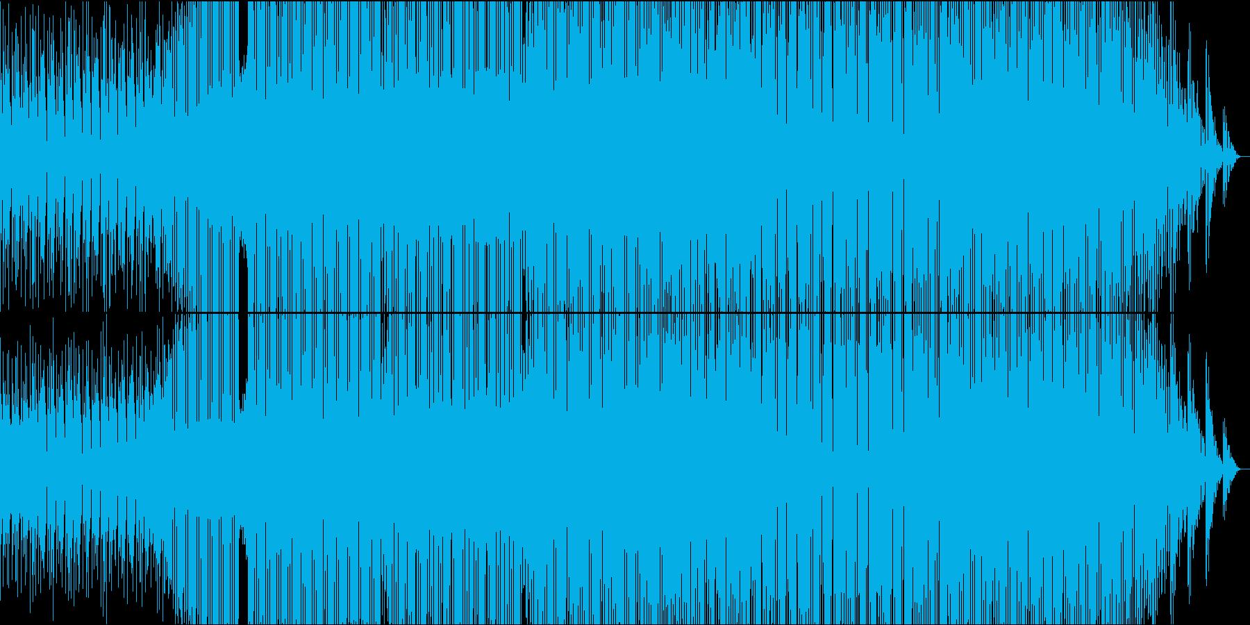 時代を駆ける熱い厚いビートの再生済みの波形