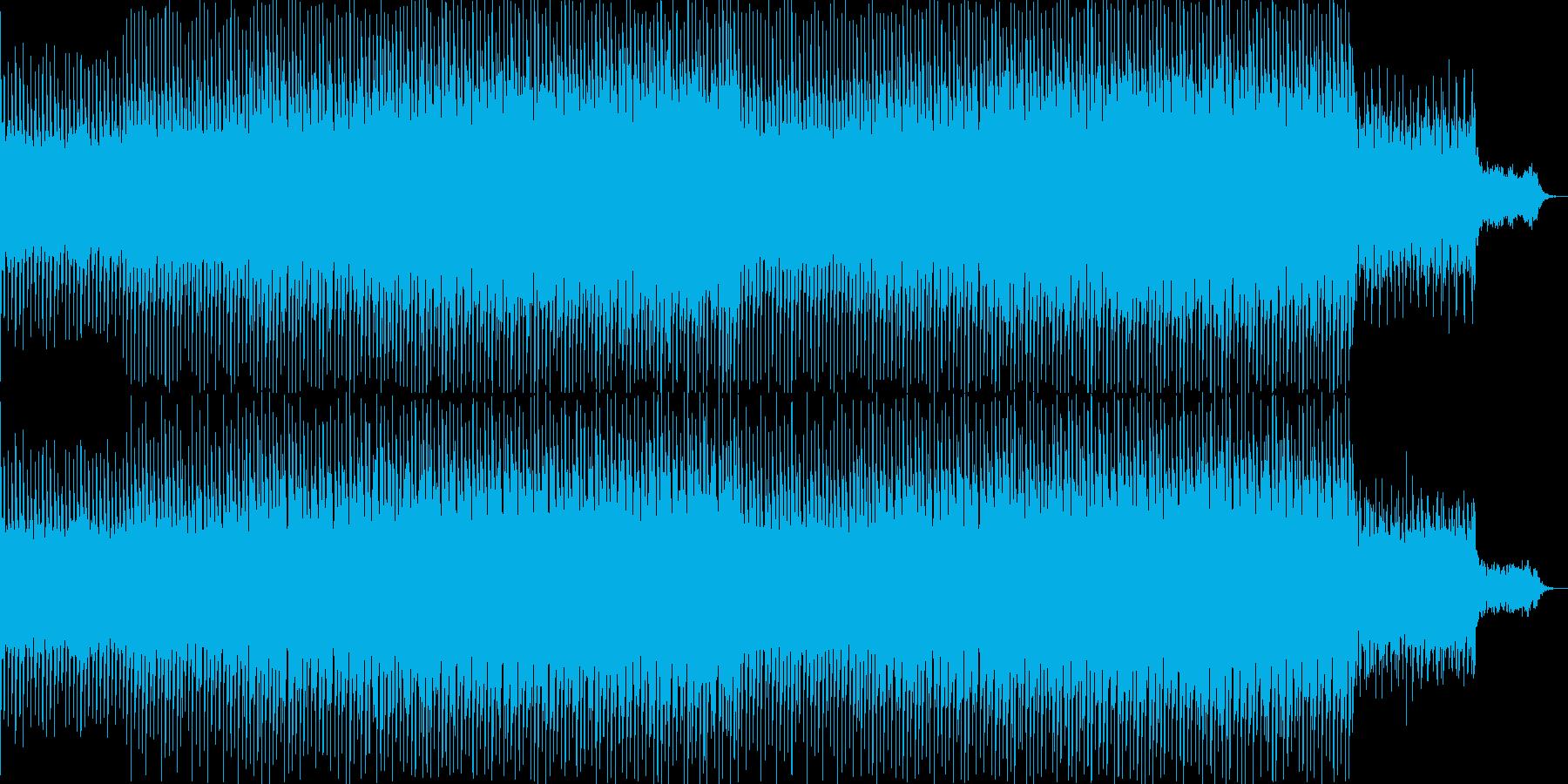 ニュース映像ナレーションバック向け-08の再生済みの波形