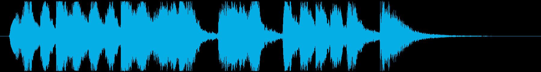CM 変なファンファーレ No2の再生済みの波形