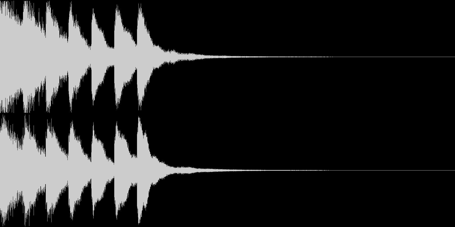 シンプル ベル チャイナ 中国風 09の未再生の波形