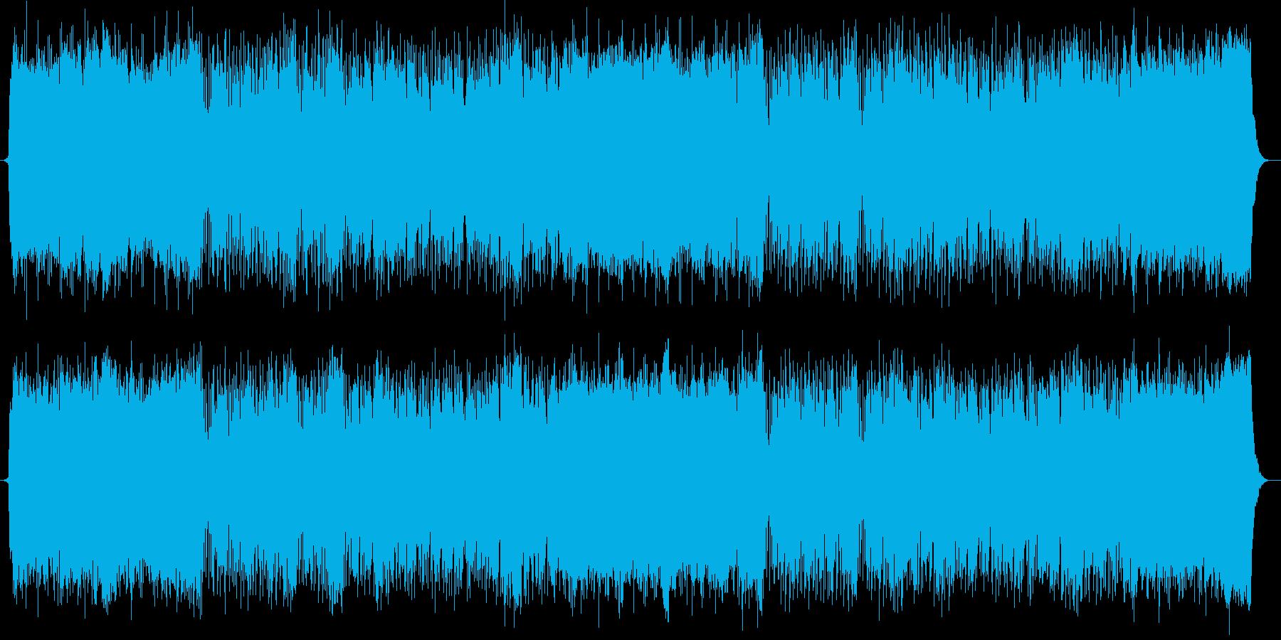 清らかで流暢なストリングスポップの再生済みの波形