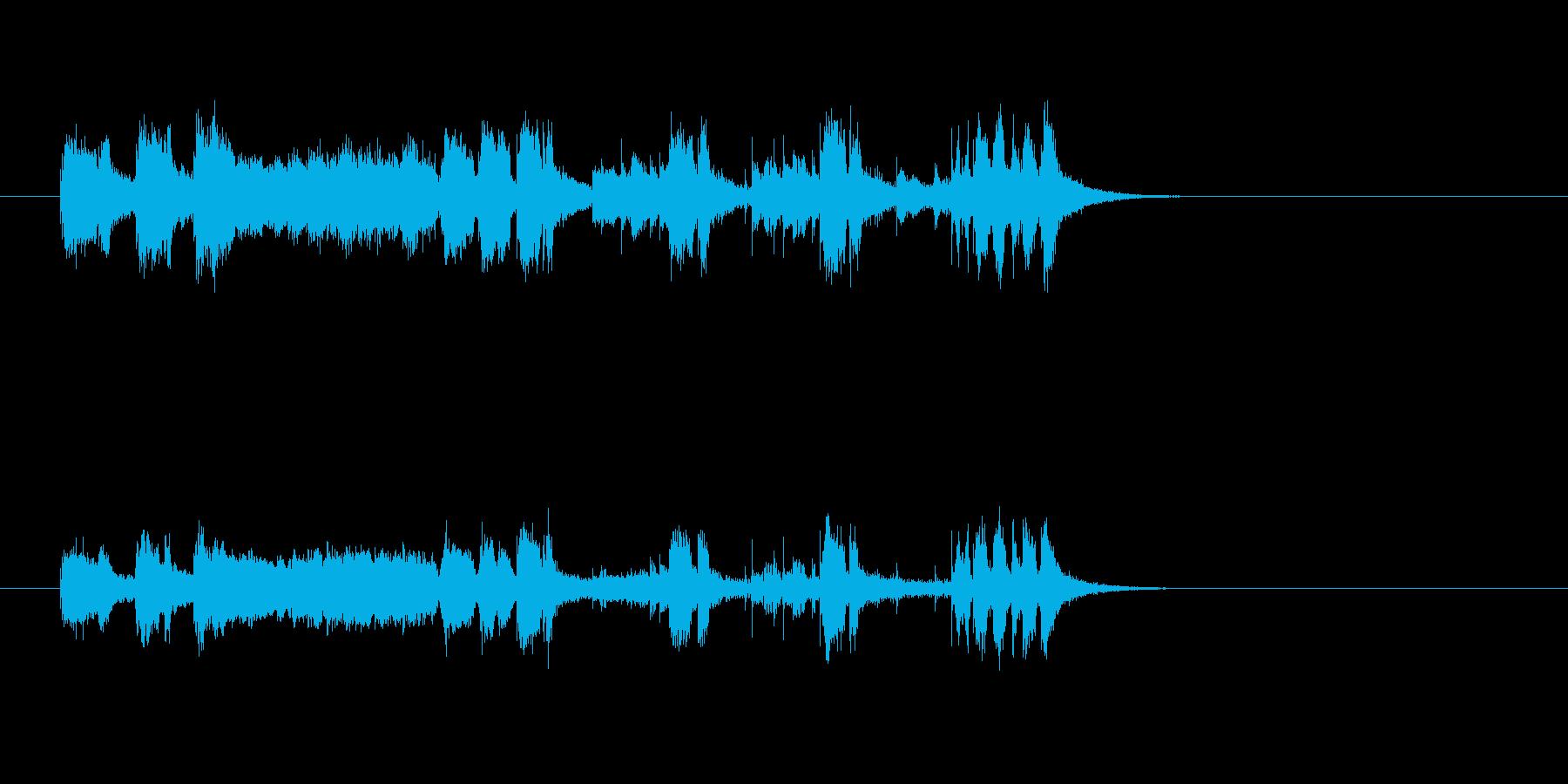 ジングル(ホーン・セクション)の再生済みの波形