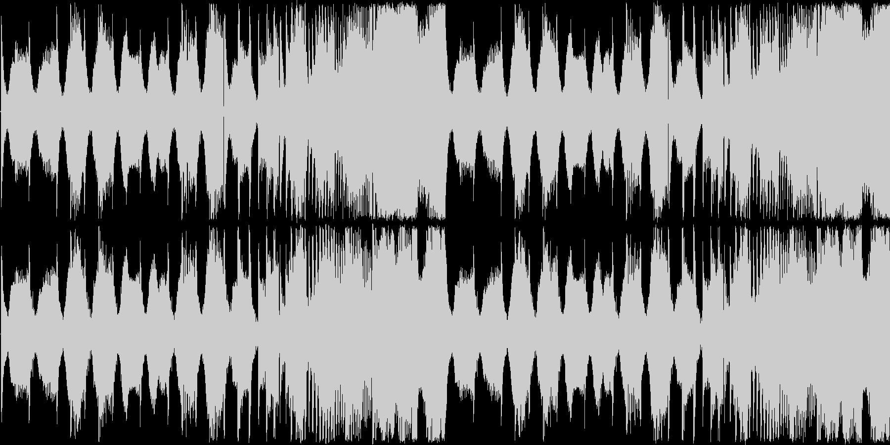 【アップテンポなシンセロック】の未再生の波形