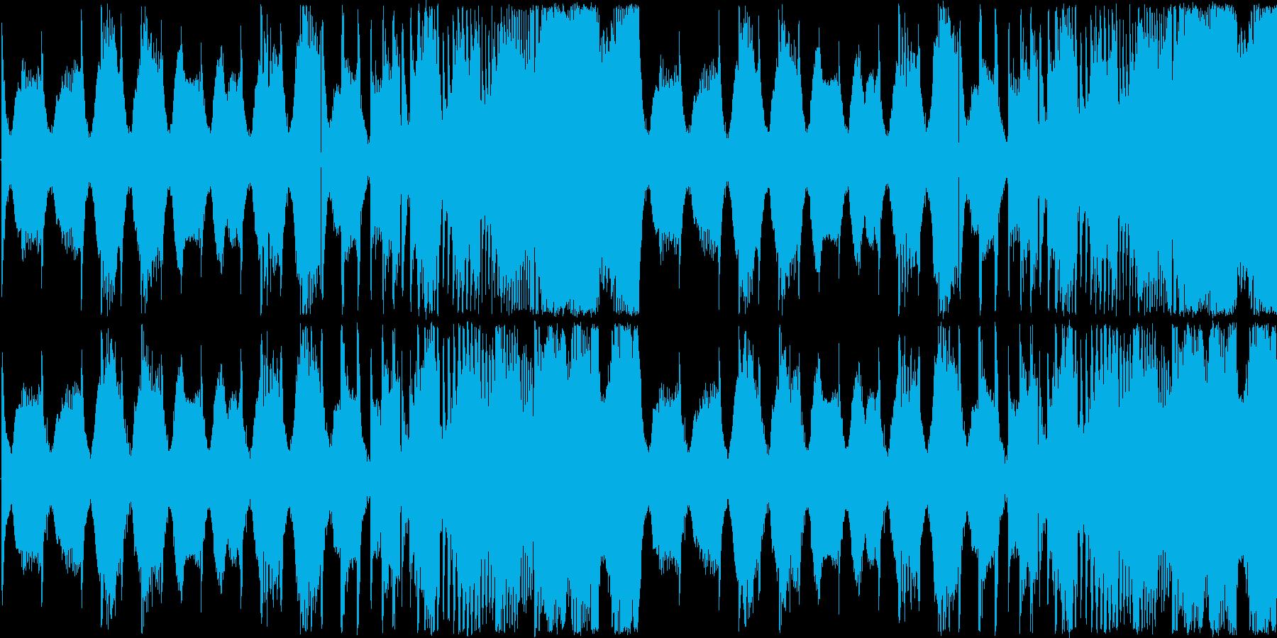 【アップテンポなシンセロック】の再生済みの波形