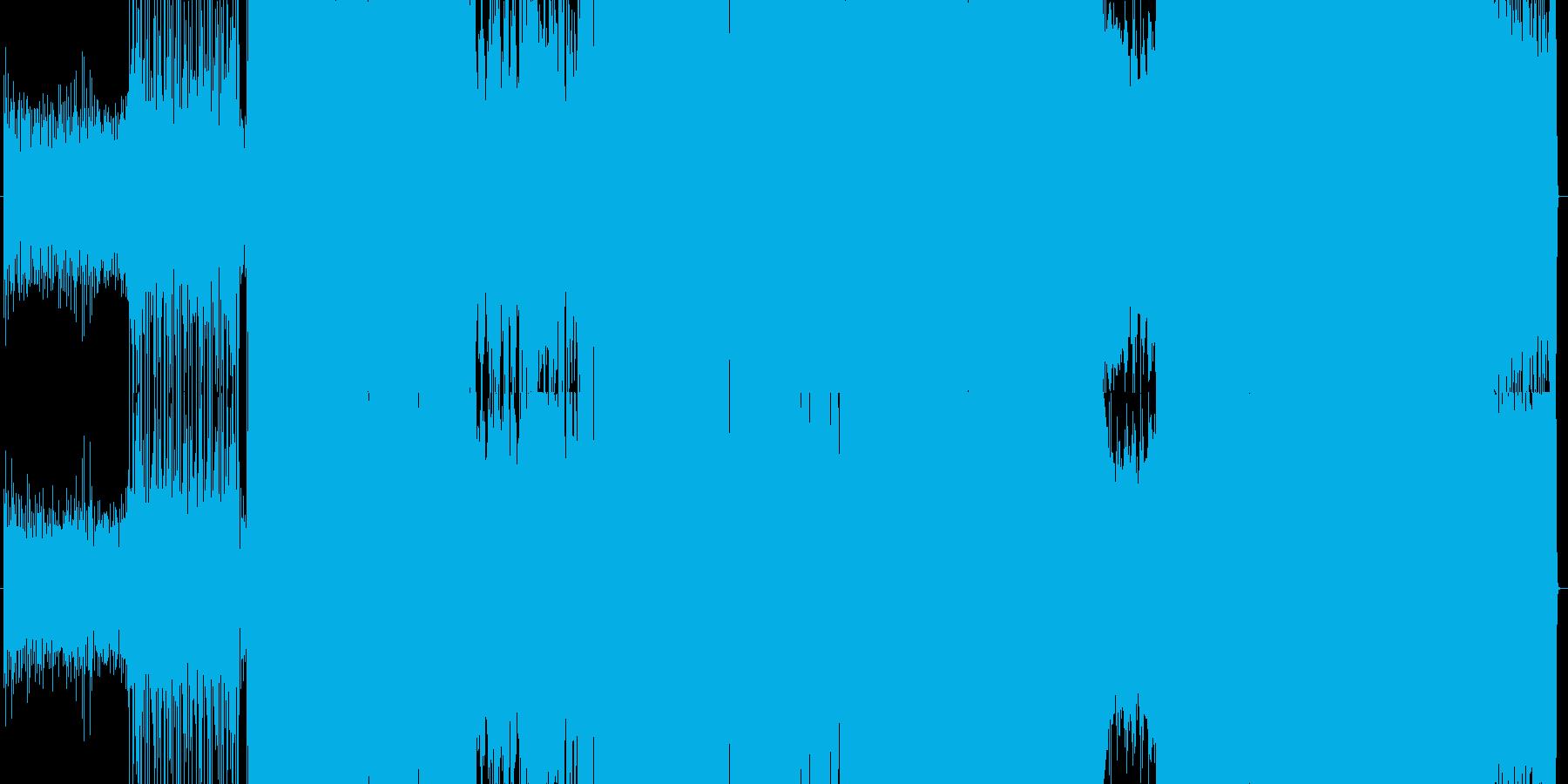 コミカルなアップテンポのガールズロックの再生済みの波形