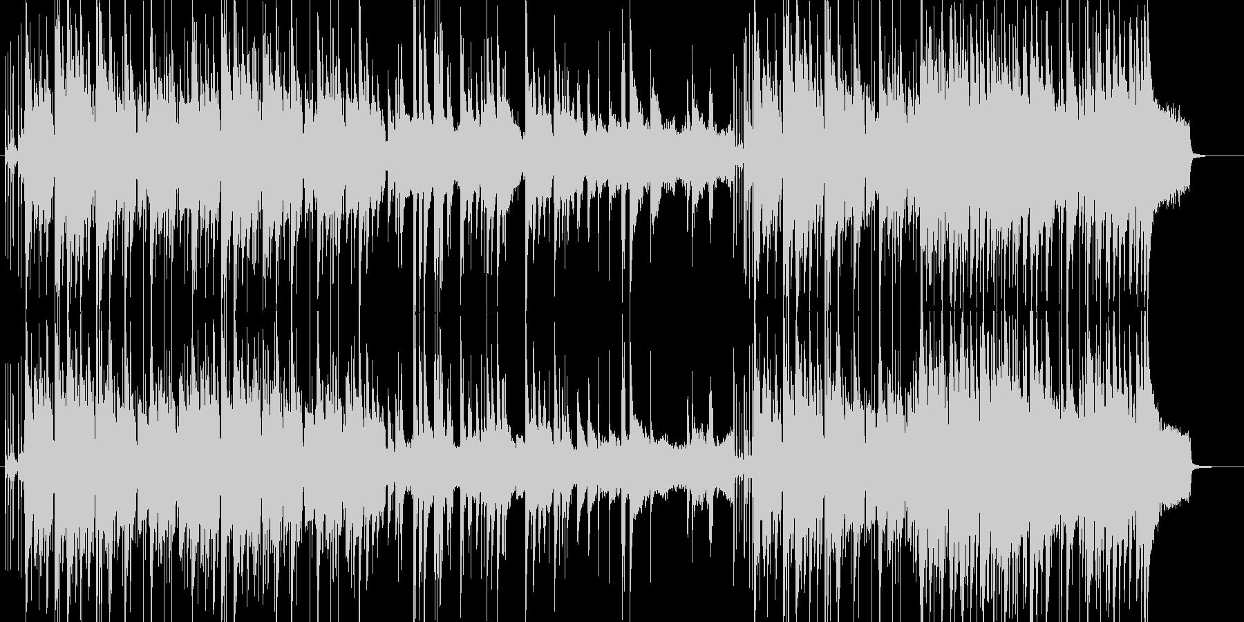 明るい雰囲気のクラッシックギターポップスの未再生の波形