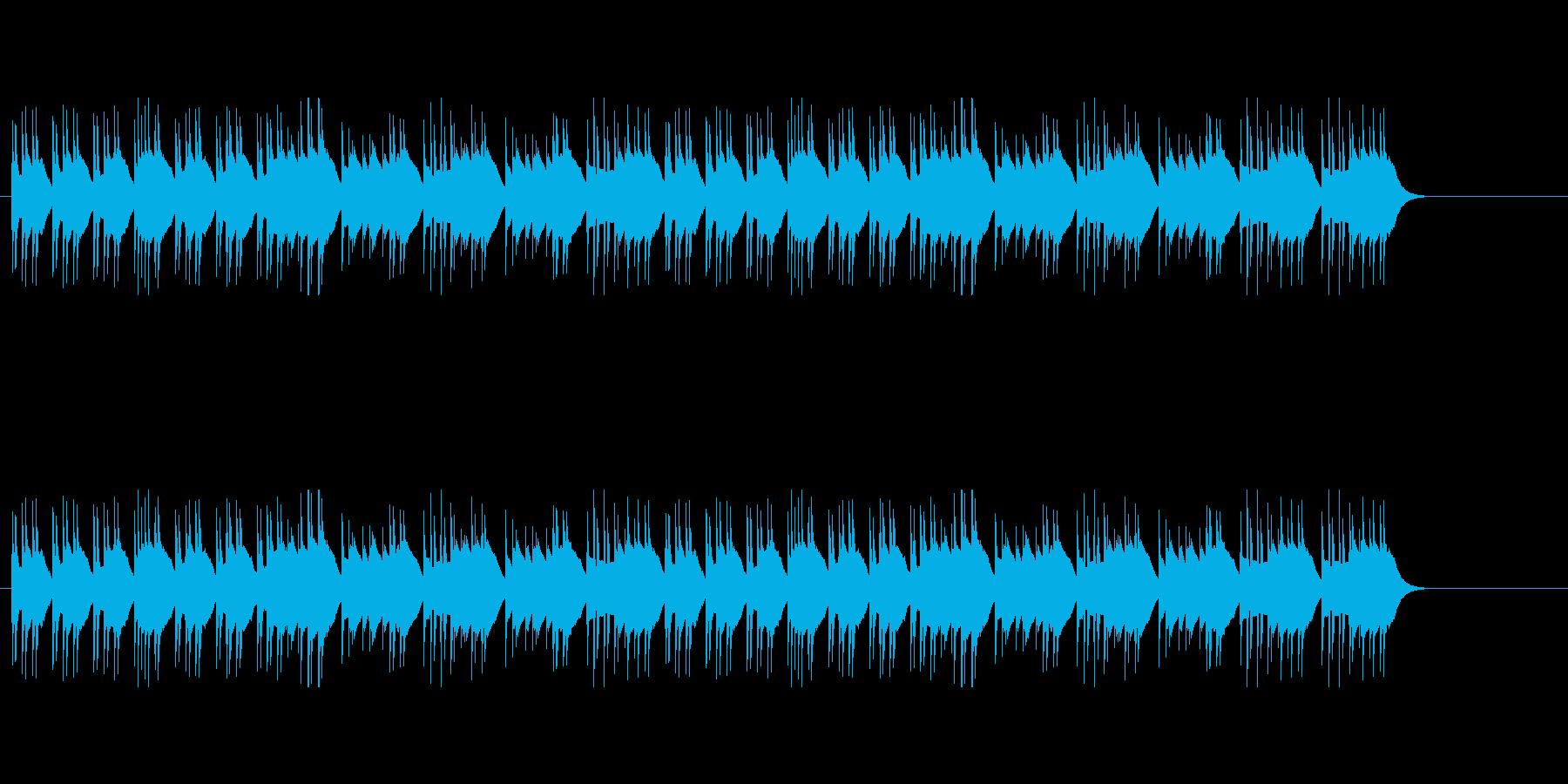 ジングルベルのシャッフル オルゴールの再生済みの波形