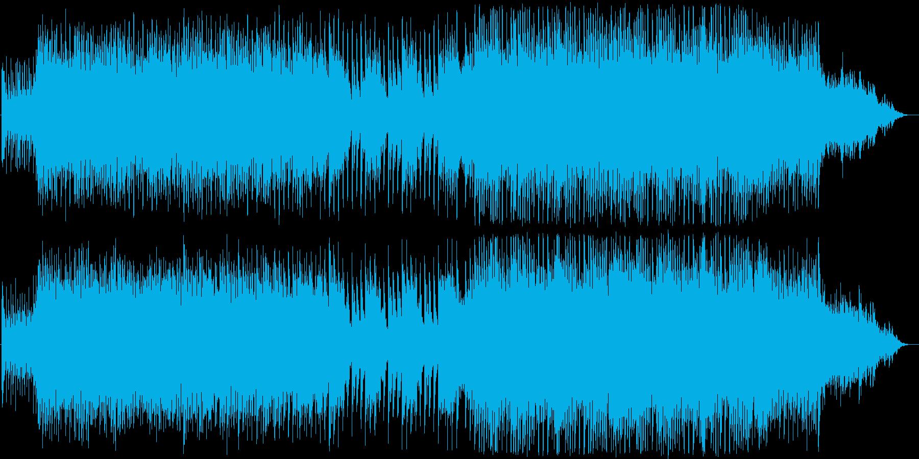 懐かしい雰囲気の再生済みの波形