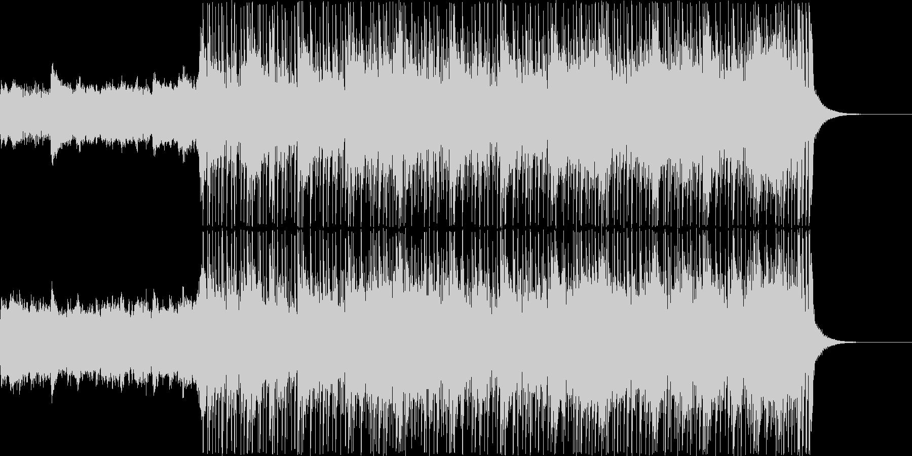 【1分】スラップベースが特徴的なフュージの未再生の波形