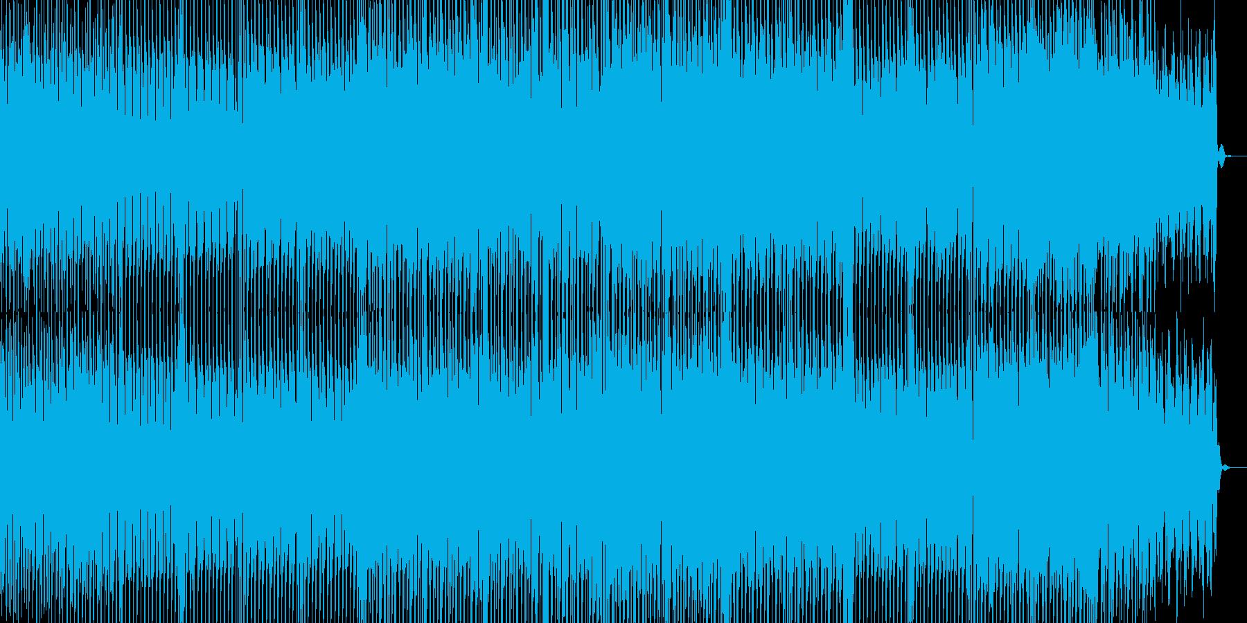 ひたすら明るいEDMの再生済みの波形