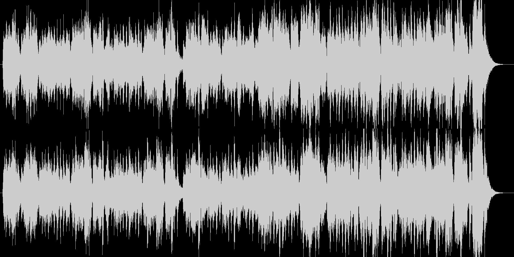 怪しい魔女・軽快でコミカルなオーケストラの未再生の波形